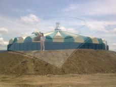 Rezervor apă potabilă 715 mc