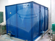 Rezervor modular rectangular pentru apă 16 mc