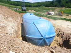 Rezervor subteran apă 100 mc