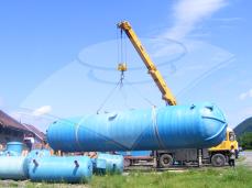 Rezervor subteran apă potabilă 100 mc